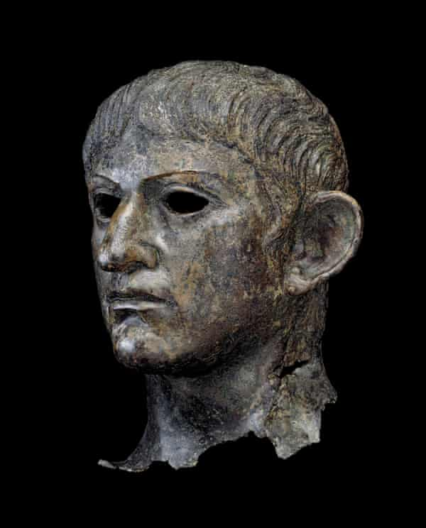 Loot ... a head, possibly Nero or Claudius, found in a Suffolk river.