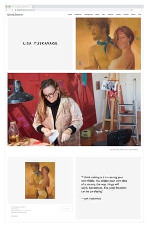 David Zwirner Gallery online viewing room