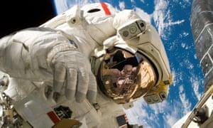Sellers spacewalk