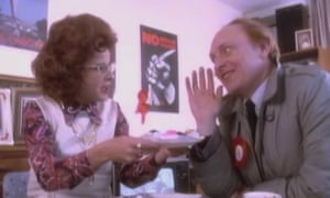 Labour gains: with Neil Kinnock in Ullman's My Guy video in 1984