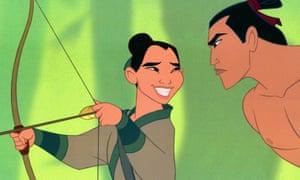 The 1998 animated Mulan.