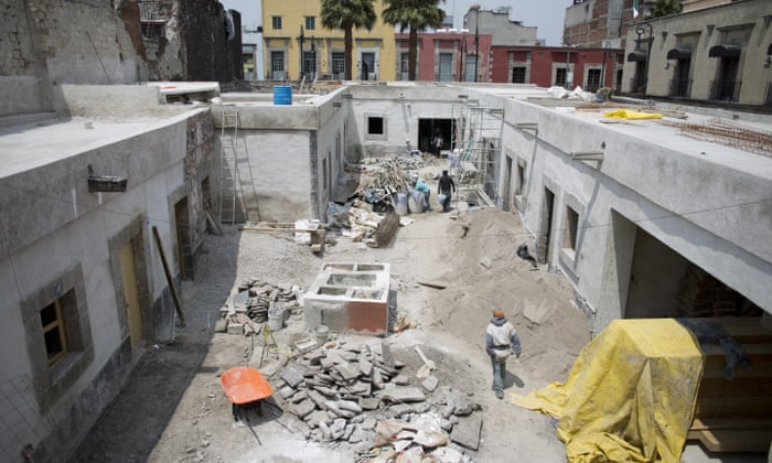 A new life' for Mexico City's oldest house as restoration begins