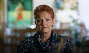One Nation leader Pauline Hanson cries recalling her time in prison and the impact on her family, in the documentary Pauline Hanson: Please Explain! which premiered on 31 July on SBS.