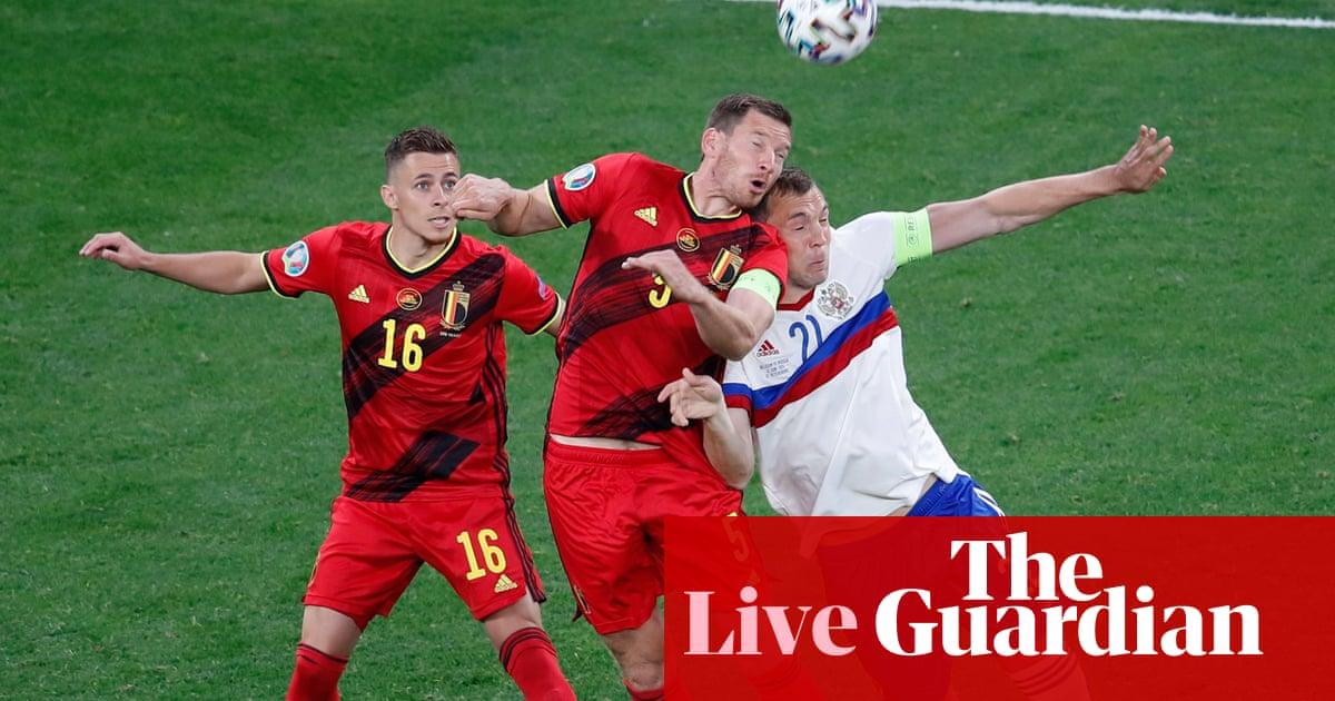 Belgium v Russia: Euro 2020 – live!