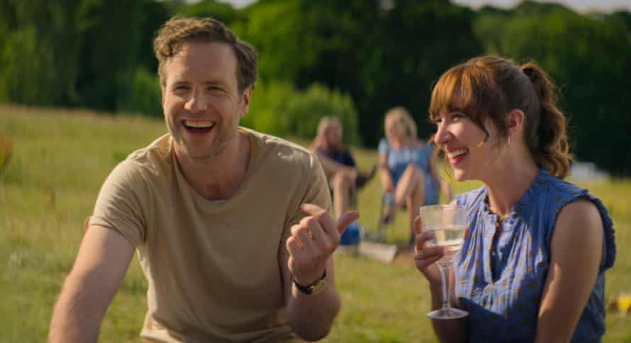 Rafe Spall and 'manic pixie dream girl' Esther Smith in Trying.