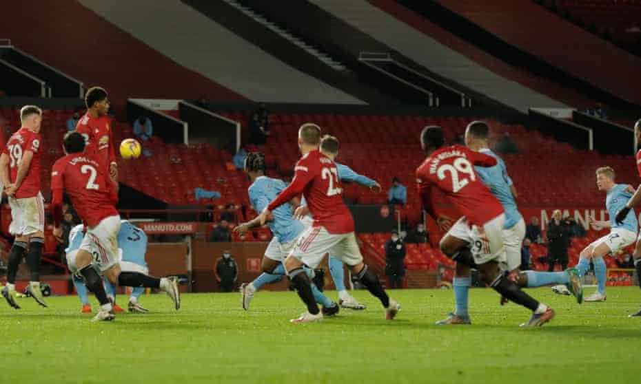 Kevin de Bruyne, Manchester United v Manchester City