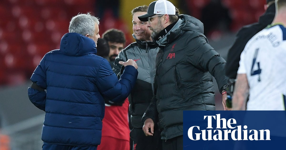 The best team lost: Mourinho takes aim at Klopp after Liverpool snatch top spot