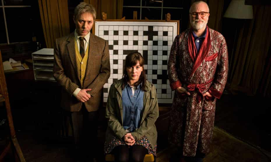 Reece Shearsmith and Steve Pemberton with Alexandra Roach in Inside No 9.