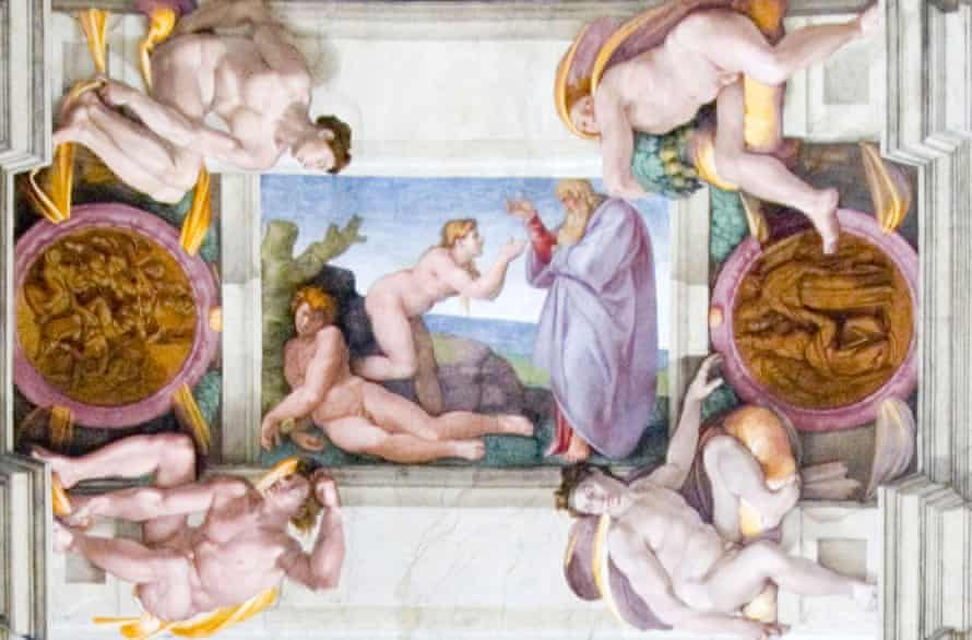 Michelangelo's The Creation of Adam and Eve, the Sistine Chapel