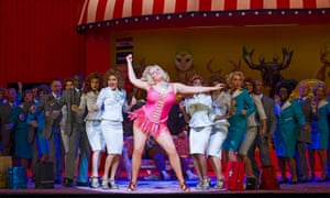Eva-Maria Westbroek in Anna Nicole at the Royal Opera House in 2014.