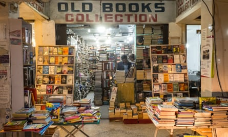 'You can't get this kind of service elsewhere' … Old Books Collection in the Jinnah Super Market mall.