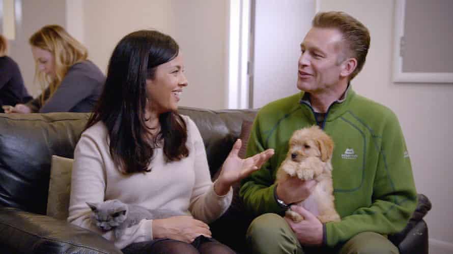 Dog lover … Chris Packham.