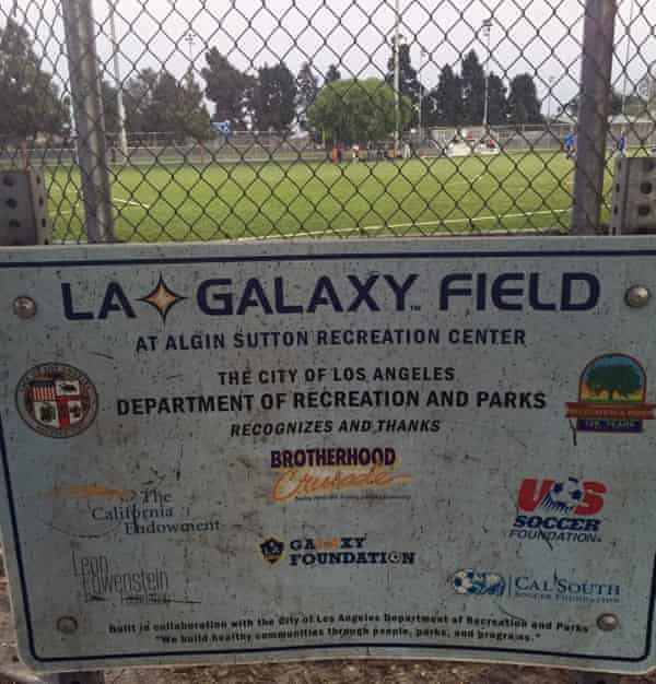 Refurbished with help from community partners, the soccer field is intended as a safe place for everyone – including the families of gang members.