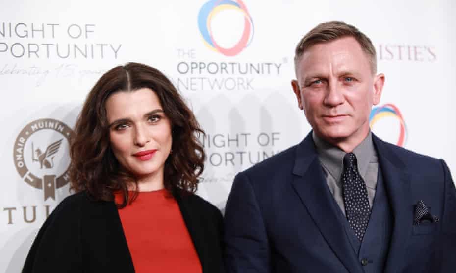 Rachel Weisz and Daniel Craig.