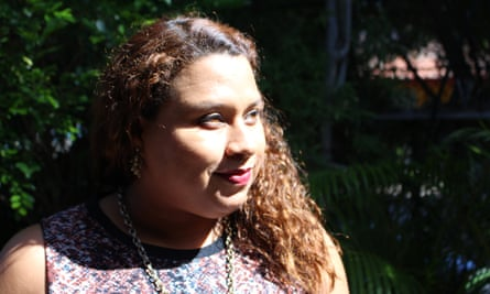 Salvadoran lawyer Laura Moran, 30, who has fought many cases of sexual violence against women