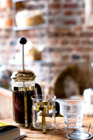 An old favourite – French press coffee.