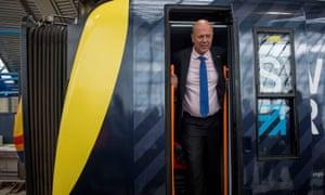 The UK's transport secretary, Chris Grayling
