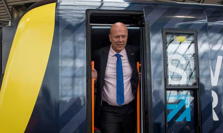 The transport secretary, Chris Grayling