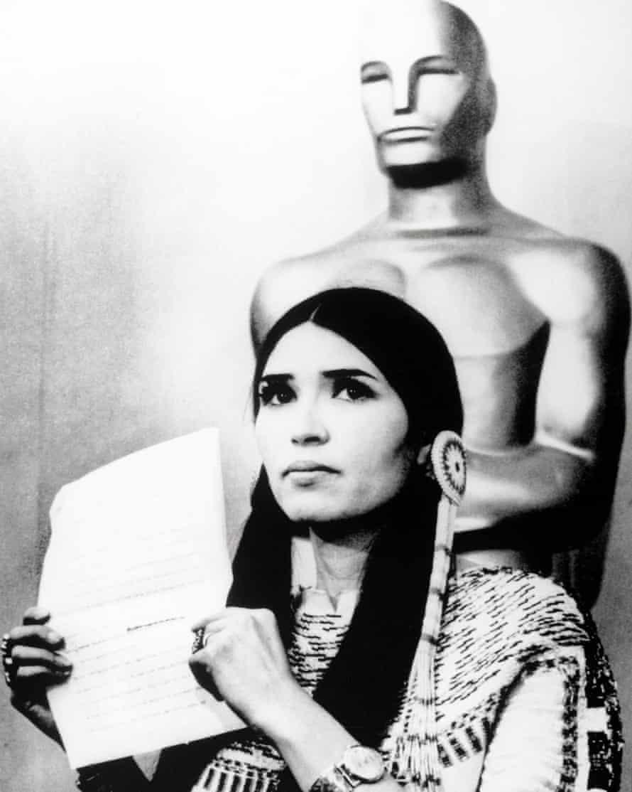Sacheen Littlefeather at the 1973 Oscars