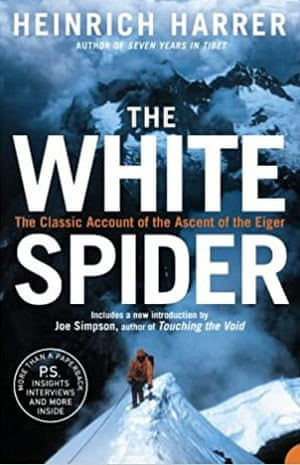 Cover of The White Spider by Heinrich Harrer