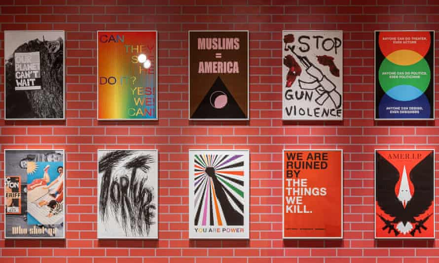 A selection of newly designed posters