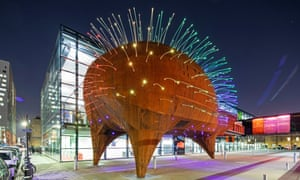 Spine-tingling … the Neuron Pod education centre at Queen Mary University of London.