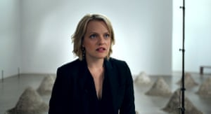 Elisabeth Moss in The Square.