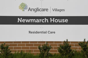 Newmarch House aged care home in Kingswood, near Penrith, NSW.