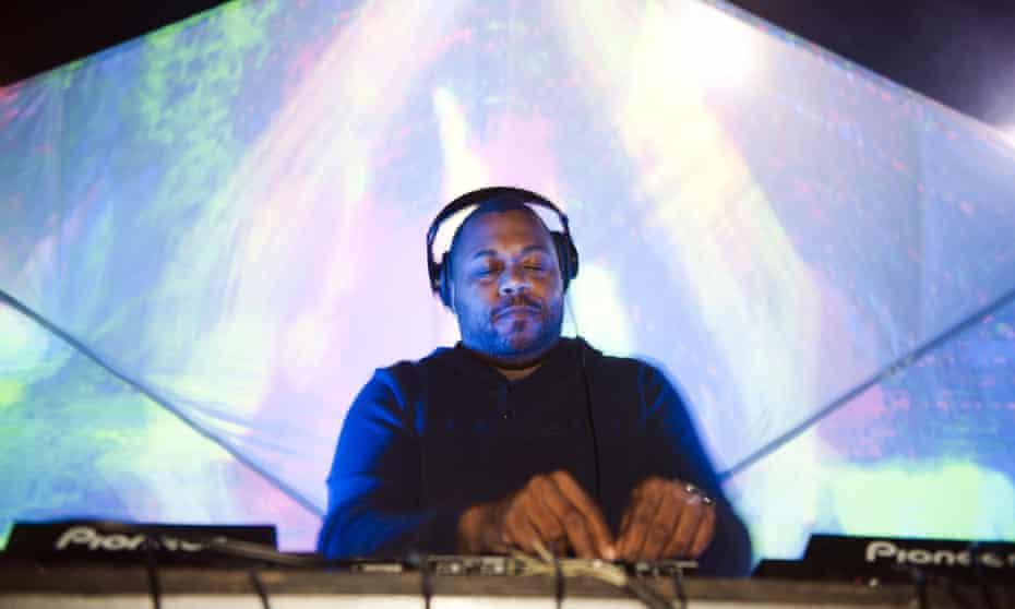Chicago DJ Derrick Carter.