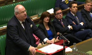 Communities secretary Eric Pickles speaks in the Commons about the Rotherham report.