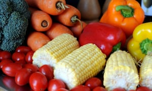 A new study shows the health benefits of fruit and vegetables come from relatively modest quantities, which may help people with low incomes.