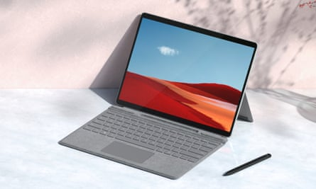 Microsoft's ARM-based Surface Pro X tablet gets faster SQ2 chip.