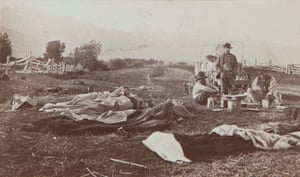 Camping Out, Early Morning, ca. 1870–1875