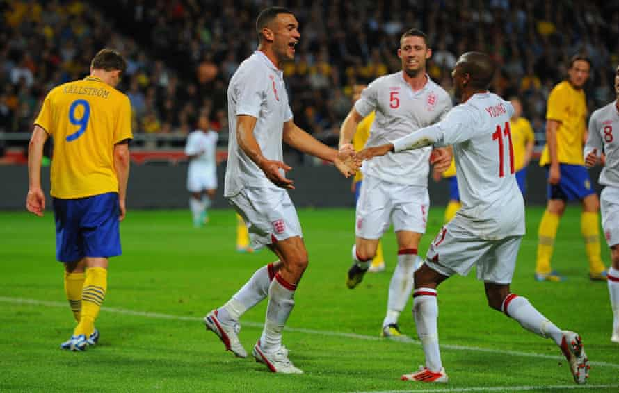 Steven Caulker, here celebrating after scoring on his England debut in 2012, says his football ability is 'a gift but also a curse'.