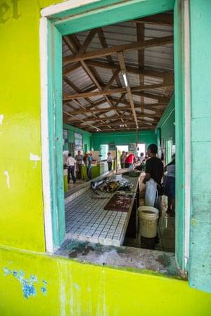 The fish market in Punta Gorda