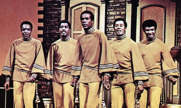 The Temptations: Paul Williams, Otis Williams, Eddie Kendricks, Melvin Franklin and Dennis Edwards (Photo by GAB Archive/Redferns)