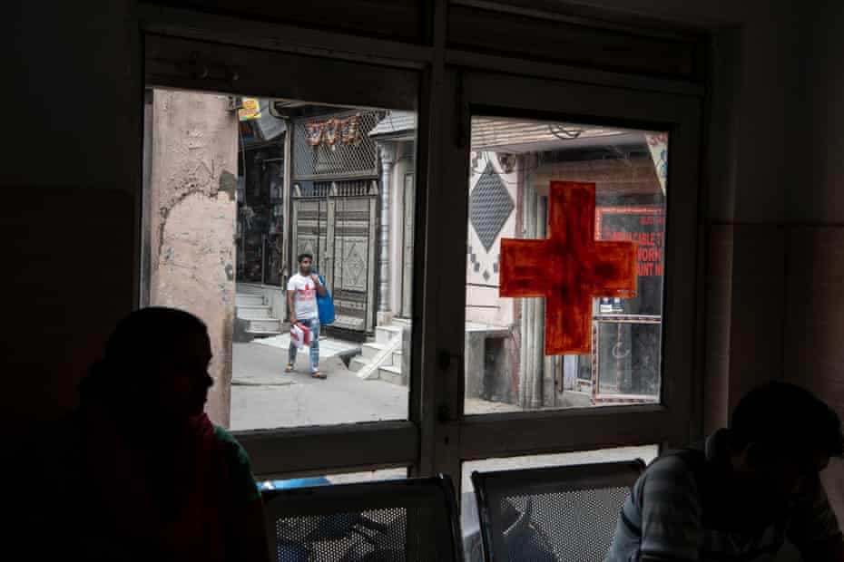 An outside view from Sagar clinic.