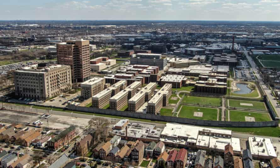 In Illiinois, researchers found that nearly 16% of all Covid-19 cases could be traced back to Cook county jail in Chicago.