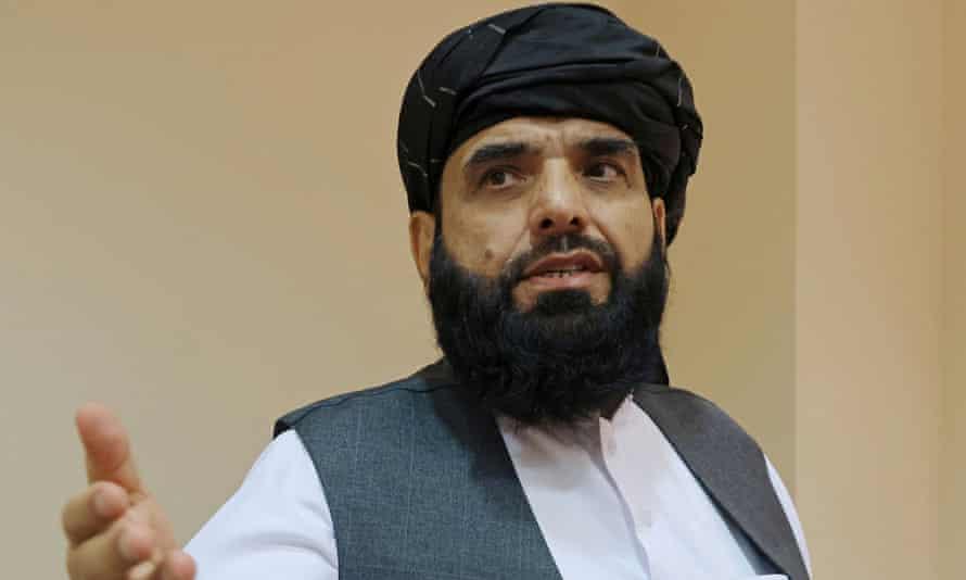 The Taliban spokesperson, Suhail Shaheen