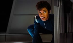 A star in the making … Sonequa Martin-Green as First Officer Michael Burnham.