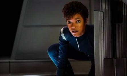 A star in the making … Sonequa Martin-Green as First Officer Michael Burnham.