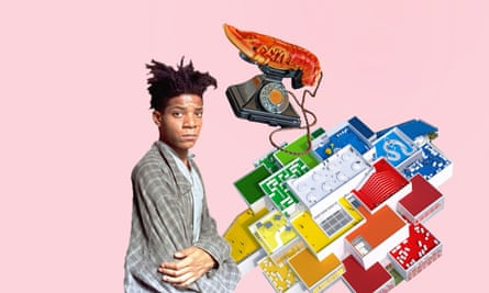 Jean-Michel Basquiat, Lobster Telephone (red), 1938, by Salvador Dalí and Edward James, the Lego House