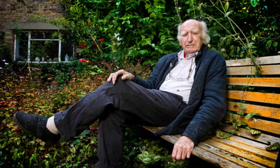 Fred Jarvis at his home in Barnet, north London, in 2014.