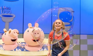 Peppa Pig S Surprise Review A Squirting Snorting Exhausting Show