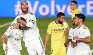 Real Madrid Win La Liga Title After Beating Villarreal As It Happened Football The Guardian