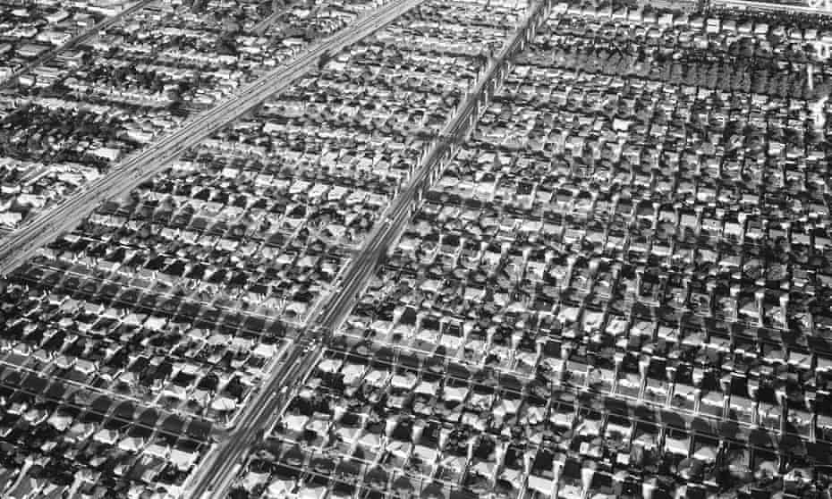 View of suburban Los Angeles