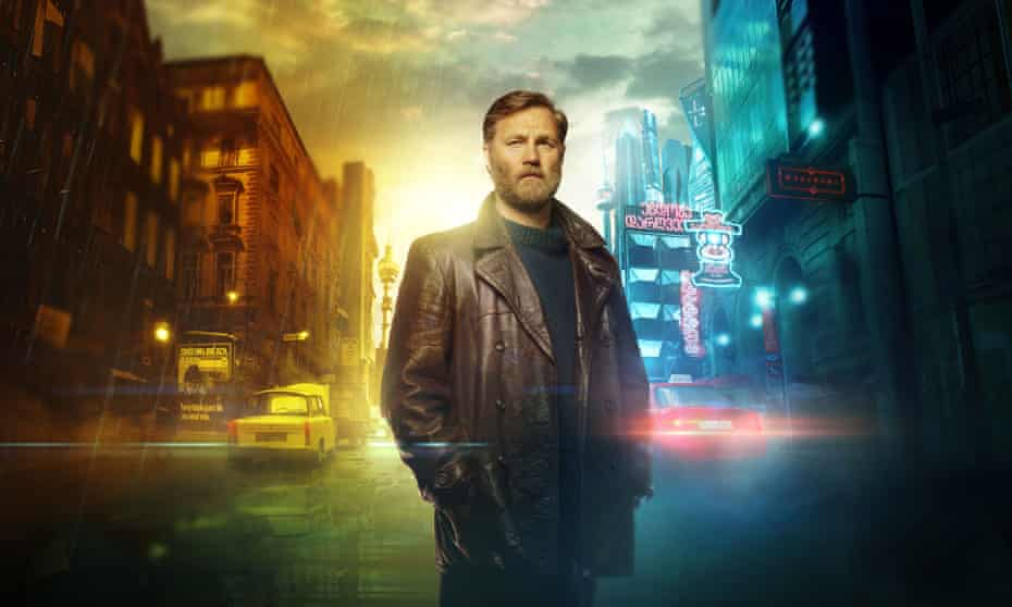 David Morrissey as Tyador Borlú in BBC Two's The City and the City.