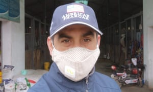 Rui Severino, an Australian horse trainer, is under lockdown in Wuhan due to the coronavirus outbreak.