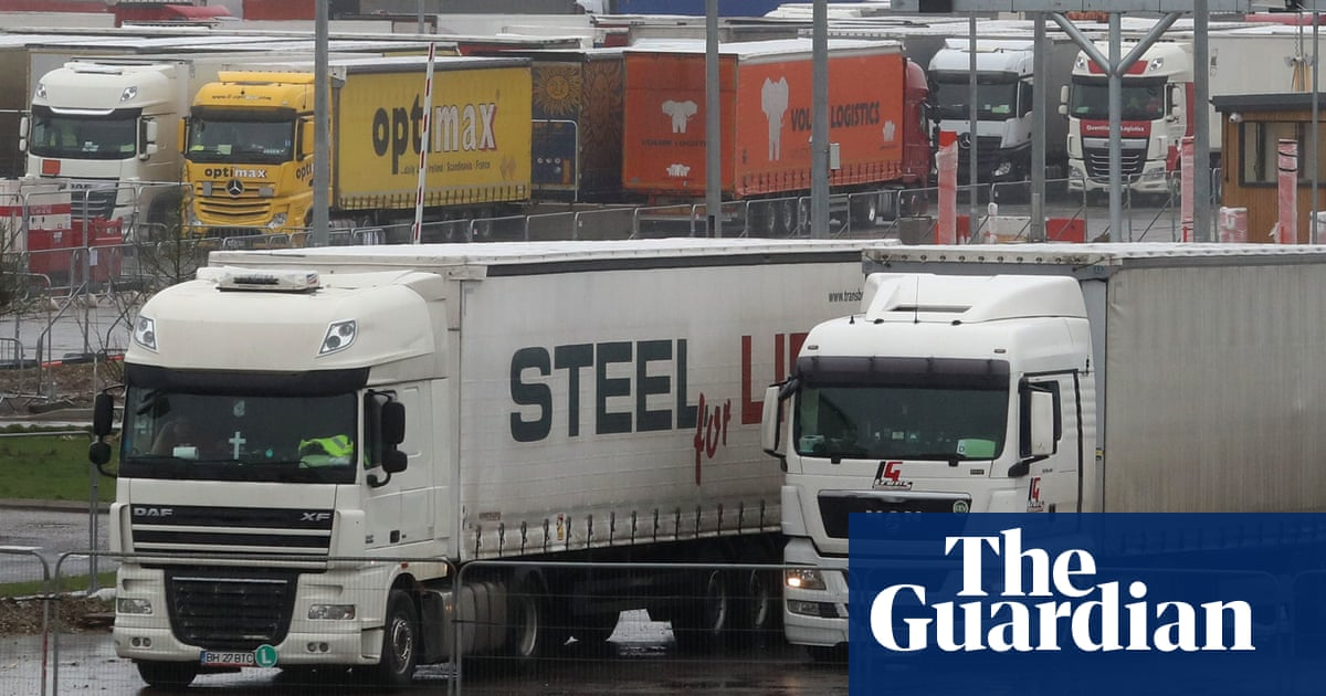 Working hours rules to be relaxed to ease UK lorry driver shortage