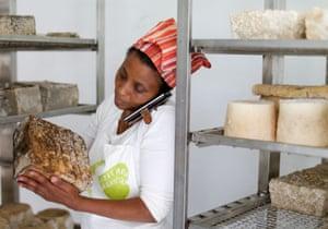 Agitu Ideo Gudeta produced organic milk and cheese using environmentally friendly methods.